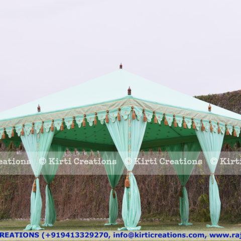 Atmospheric Pergola Tent